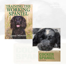 Cocker Spaniel: An Owner's Guide,Training The Working Spaniel 2 Books Set NEW UK