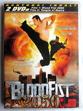 DVD (s) - BLOOD FIST 2050 / Temple of Desire (FSK 18 + 16)