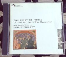 The Feast Of Fools New London Consort Philip Pickett Medieval Music CD