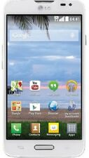 "LG Ultimate 2 4.5"" Android 4.4 White w/ Triple Minutes - Tracfone - New"