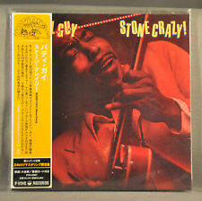 BUDDY GUY Stone Crazy! JAPAN Orig. 2007 Mini LP CD 24-Bit PCD-23957