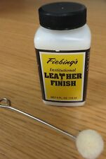 FIEBINGS INSTITUTIONAL LEATHER FINISH  (WATER BASED) 4 FL OZ - 118ml