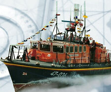 Model Boat PLAN Scale Tyne Class Lifeboat R/C F/S Printed Plans & build Notes