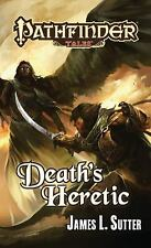 Death's Heretic by James L. Sutter (2011, Paperback) Signed