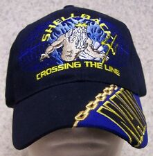 Embroidered Baseball Cap Military Navy Shellback Crossing the Line NEW 1 fit all