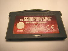 nintendo game boy advance The Scorpion King : Sword of Osiris   GBA