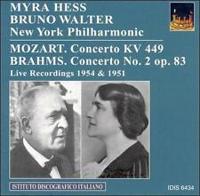 Myra Hess & Bruno Walter spielen Mozart und Bach, New Music
