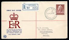 Australia 1957 WCS FDC 1'7 Definitive Reg Largs North - Serviced by John Gower