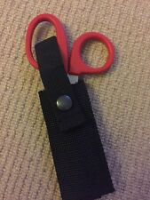 Ambulance Emergency Scissor Black Nylon Holder For Kit Belt Or Molle Vest.