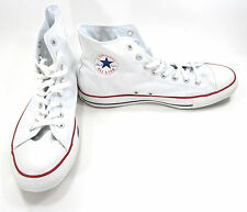 Converse Shoes Chuck Taylor Hi All Star White/Red/Blue Sneakers Size 12 EUR 46.5