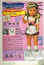 Publicité advertising 1975 Poupée le bébé aux yeux bleus