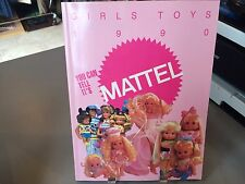 RARE MATTEL GIRLS TOYS TOY FAIR CATALOG 1990 PJ SPARKLES BARBIE LITTLE PRETTY