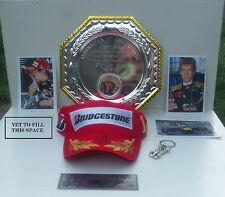 Formula 1 Race Champion Sebastian Vettel Red Bull Display (Genuine Autograph)