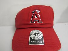 Los Angeles Angels One Size MLB Baseball Hat Cap Forty Seven 47 Brand New 14983