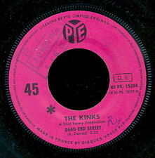 THE KINKS 45 TOURS FRANCE DEAD END STREET