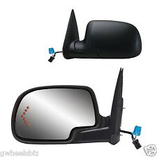2003-2006 SILVERADO/ TAHOE POWER HEATED ARROW TURN SIGNAL VIEW SIDE MIRROR- PAIR