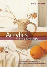 ACRYLICS TIPS & TRICKS Internal Wire-O Bound by David Cuthbert NEW HARDCOVER
