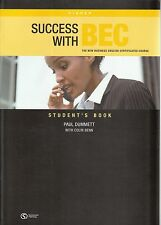 SUCCESS WITH BEC HIGHER Business English Course STUDENT'S BOOK with Answers @NEW