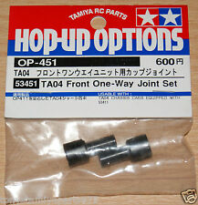 Tamiya 53451 TA04 Front one-way JOINT SET, TRF414MII / TRF415MS / TRF415MSX / TB Evo 4