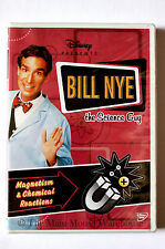 Disney Bill Nye The Science Guy Magnetism & Chemical Reactions Educational DVD