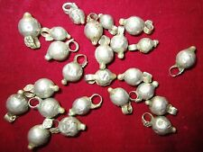 100 LOT VINTAGE Banjara TRIBAL BELLS GHUNGROO BEADS Bellydance Wholesale ATS