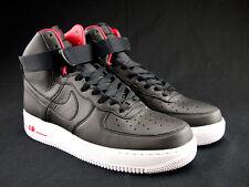 Nike Air Force 1 High Premium QS SZ 11 King Lebron James Black White 386161-009