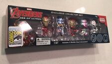 SDCC 2015 Exclusive Age Of Ultron Bobble Heads Marvel Avengers Mini Figure Set