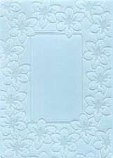 Crafts Too A6 Embossing Folder TULIP FRAME CTFD4005