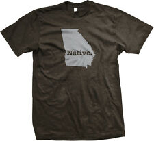 Native Georgia State Pride Peach State Atlanta Empire State South Mens T-shirt