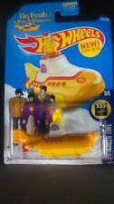 HOT WHEELS THE BEATLES YELLOW SUBMARINE 2016 NEW DIECAST 1:64 HW SCREEN TIME HTF