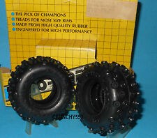 "Proline 1.5"" Rear Tires Tamiya Frog Hornet Grasshopper SRB Vintage RC Part"
