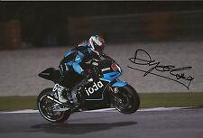 Danilo Petrucci Hand Signed Octo IodaRacing ART 12x8 Photo 2014 MotoGP 7.