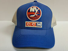 New York Islanders CCM Cap Snapback Mesh Adjustable Trucker Hat NHL