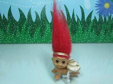 "VALENTINE CRAWLING CUPID BABY - 2"" Russ Troll Doll - VERY RARE"