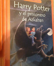 New Spanish Hardcover Harry Potter y el prisionero de Azkaban  Book