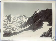 photo ancienne . Alpes . le vallon de Beaupré  . vers 1908