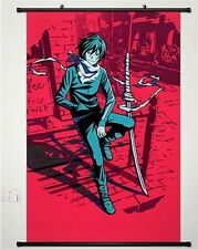 Home Decor Anime Japanese Poster Wall Scroll Hot Noragami Yato Cosplay