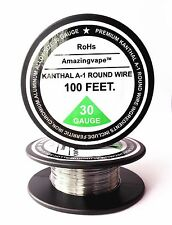 200 feet Kanthal A1 Round Wire 30AWG,(0.25mm), A-1 Resistance Resistor 30Gauge