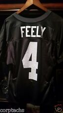 Jay Feely Practice Jersey Falcons Dolphins Bears Cardinals Jets Michigan Giants