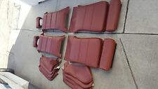 BMW E30 325i 318i 325is SPORT SEAT OEM GERMAN VINYL CARDINAL RED UPHOLSTERY KIT