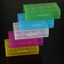 5Pcs 18650 CR123A 16340 Hard Plastic Battery Case Box Holder Storage KY