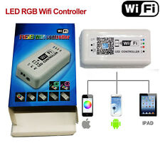 LED Wifi Controller RGB 5050 3528 Strip Light 12V 24V for iOS iPhone Android APP
