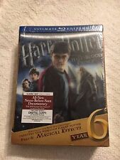 Harry Potter And The Half Blood Prince Ultimate Edition Rare Blu Ray year 6  NEW