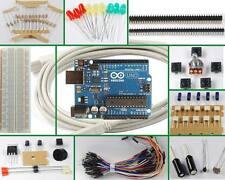 Starter kit di componenti con Arduino Uno rev3 originale nuovo