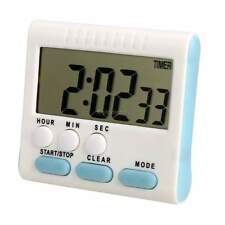 Hot Large LCD Digital Kitchen Cooking Timer Count-Down Up Clock Alarm 24Hrs 35DI