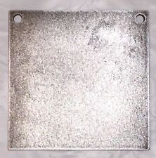"AR500 Steel Target Square Gong 1/2"" X 10"""