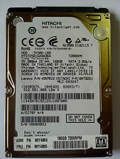 "160 GB SATA NOTEBOOK HARD DISK DRIVE 2.5"" (HITACHI) 01 YEAR SELLER WARRANTY"