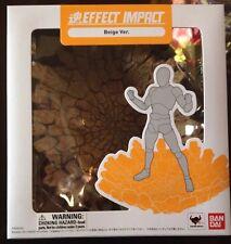 Bandai Tamashii Effect Impact Beige Version Stand Base Stage S.H Figuarts