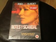 Notes On A Scandal . Judi Dench Cate Blanchett, NEW SEALED DVD . OSCAR NOMINATED