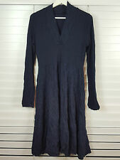 METALICUS One Size (or 8 - 10 - 12 - 14 ) womens merino wool blend dress [#1159]